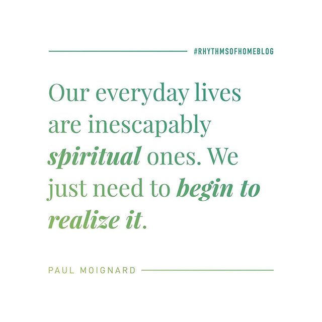 """Our everyday lives are inescapably spiritual ones. We just need to begin to realize it.""⠀ .⠀ Personally hearing from and experiencing God has so much more to do with who we are than we may think! Click the link in the profile to check out the new blog post, out now! ☝🏻⠀ .⠀ Check out www.rhythmsofhome.com/blog for monthly posts by @paulraydon⠀ ⠀ #rhythmsofhome #rhythmsofhomeblog #godsvoice #holyspirit #blog #Jesus #Christ #Christian #Love #hope #lord #God #JesusChrist #GoodNews #beloved #peace #freedom #Encouragement #prayer #Pray #faith #praise #jesusfreak #truth #trust #Christians #Relationships #Encouragement #socality"