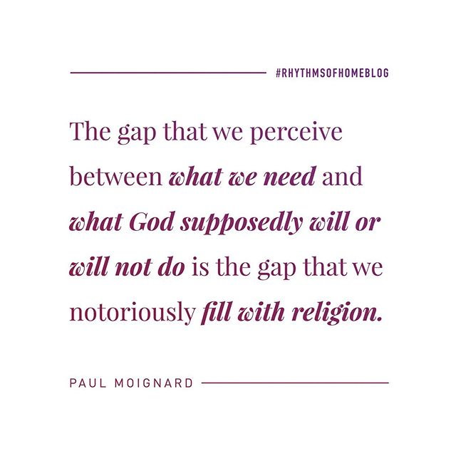 """The gap that we perceive between what we need and what God supposedly will or will not do is the gap that we notoriously fill with religion."" Check our the new ROH Blog, our today! Link in profile! 👆🏻 #godsvoice #holyspirit #blog #Jesus #Christ #Christian #Love #hope #lord #God #JesusChrist #GoodNews #beloved #peace #freedom #Encouragement #prayer #Pray #faith #praise #jesusfreak #truth #trust #Christians #Relationships #Encouragement #socality"