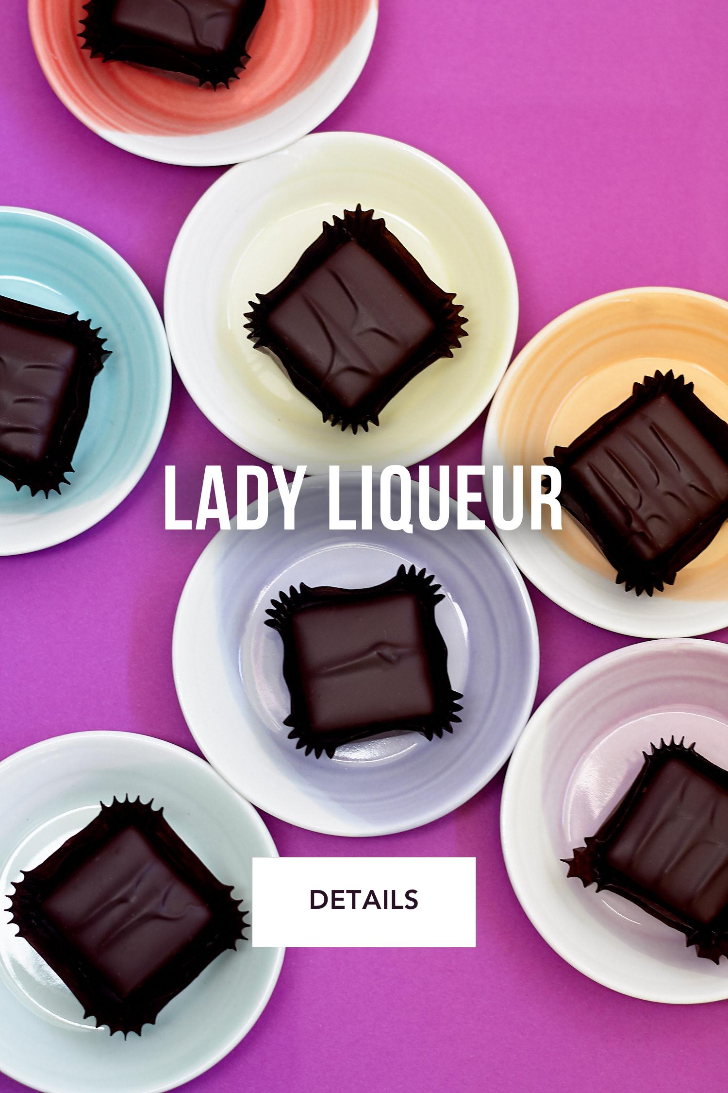 Lady Liqueur  Chocolates