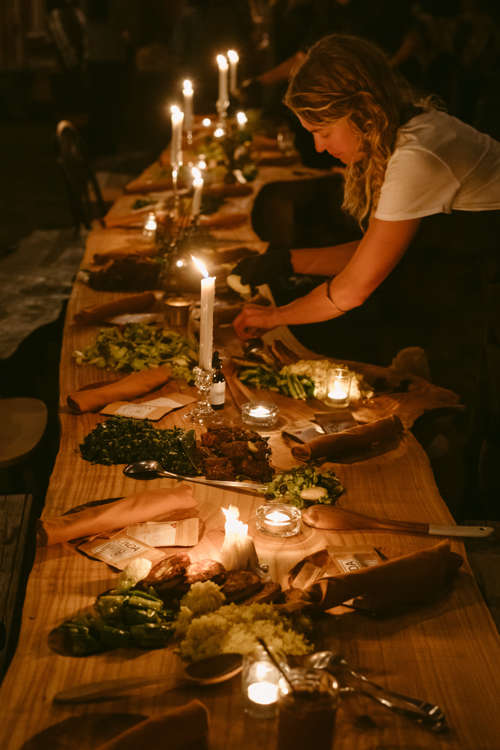 In farming we are political. In cooking we're artistic. - If there is a place I could live forever, it is most certainly the dinner table. So I built one to share with others.