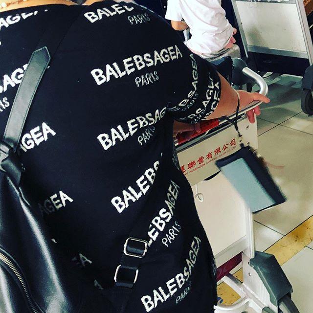 The new trend: BALEBSAGEA #sandstudio #balenciaga #balebsagea #newtrends