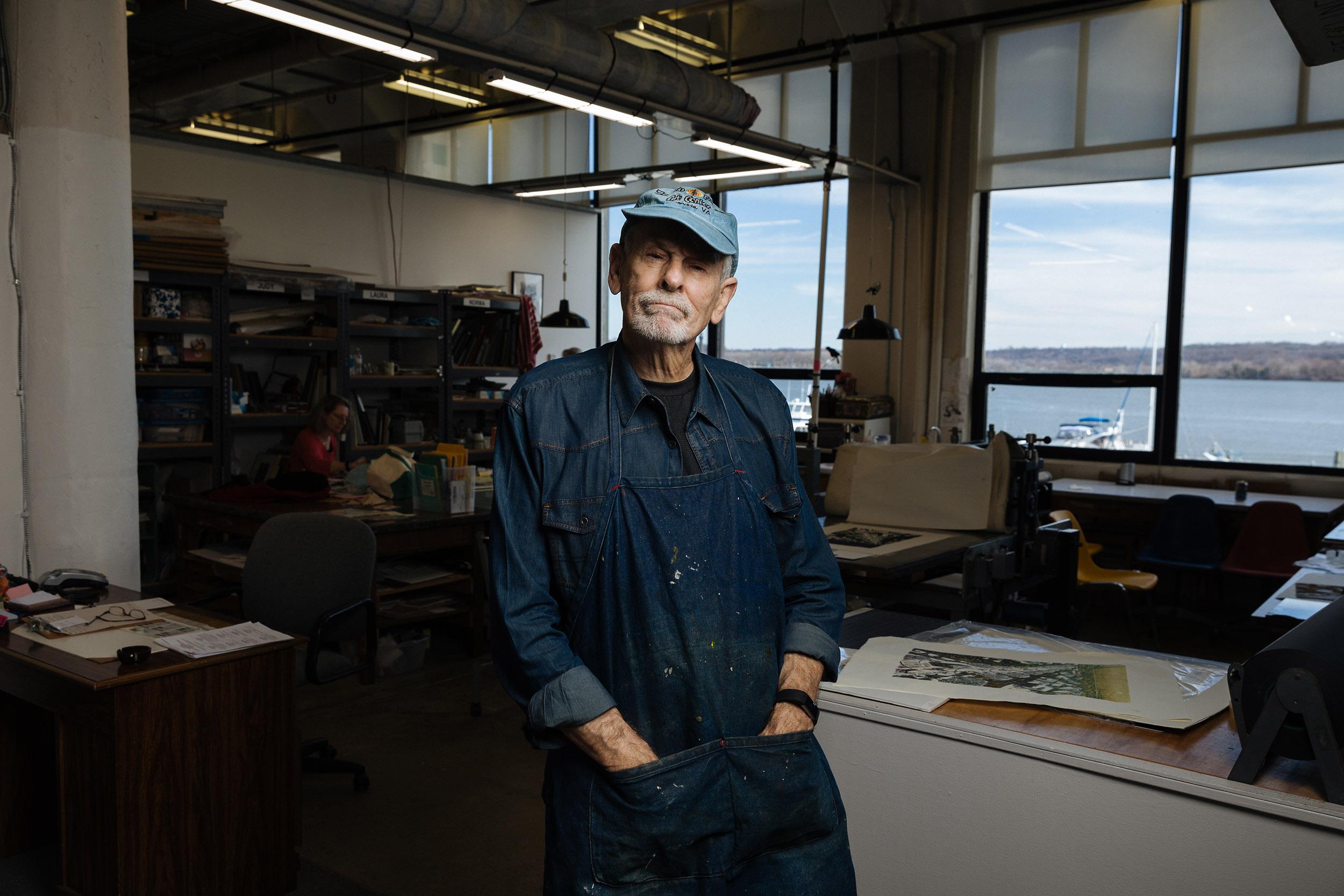 John Gosling, Artist/Print-Maker