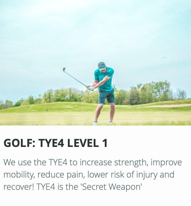 TYE4 Golf