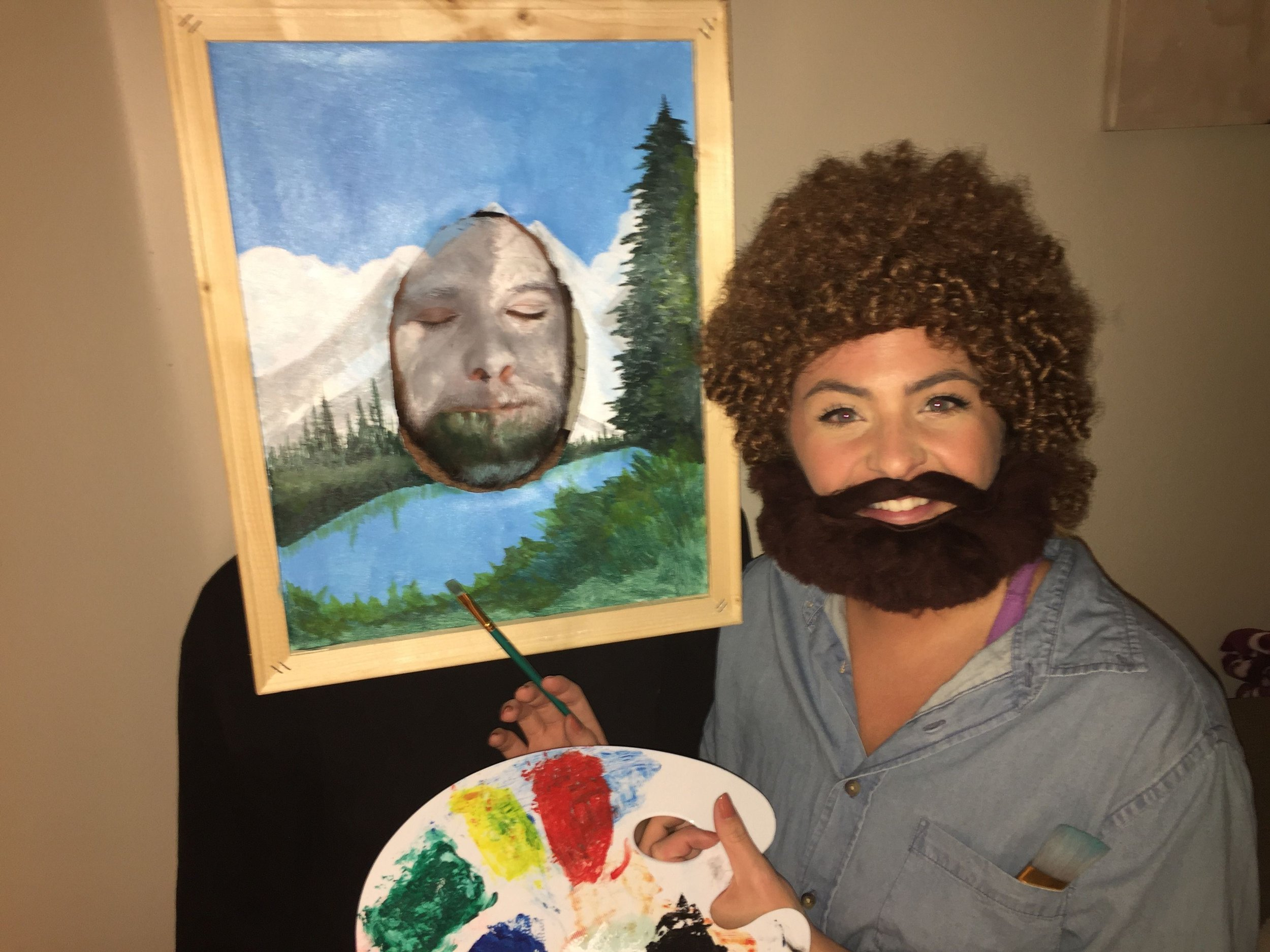 Bob Ross and Painting