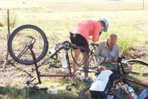 Bicyle repairs
