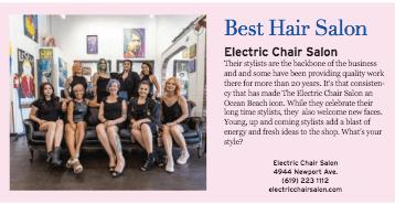 best hair salon in Ocean Beach.