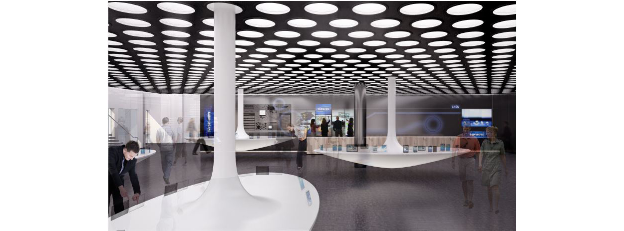 Customer Experience Center Conceptual View