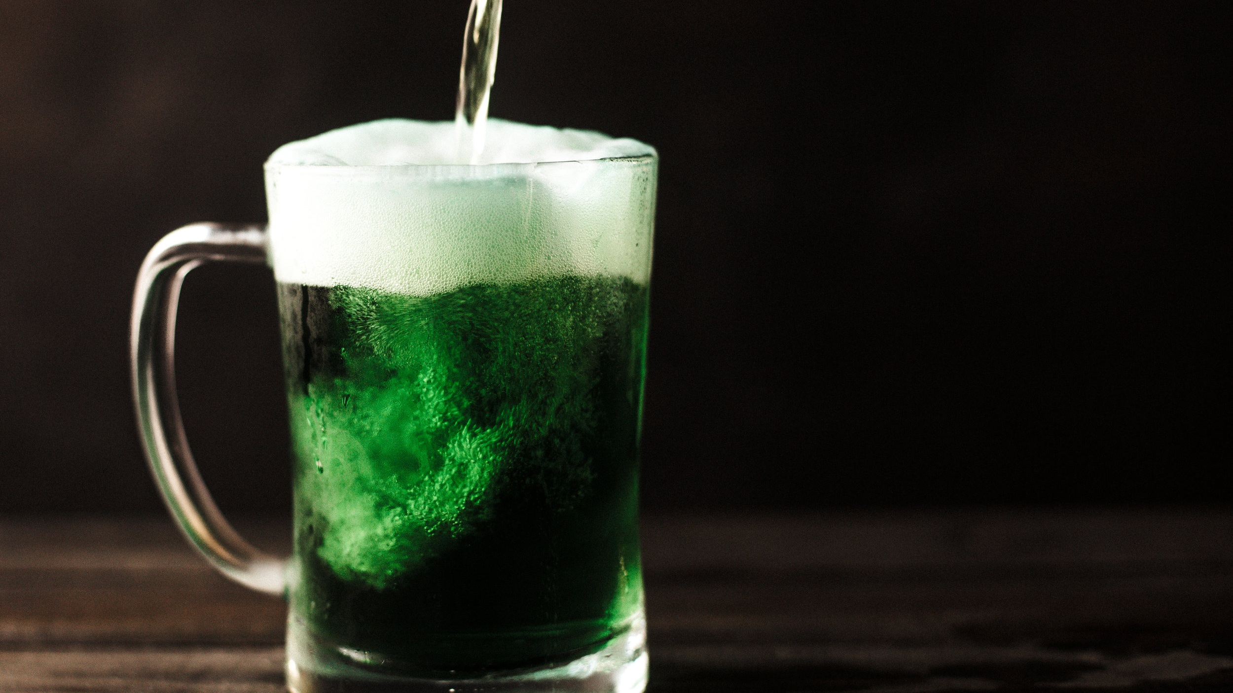 Green beer is a great way to celebrate St. Patrick's Day in the Quad Cities