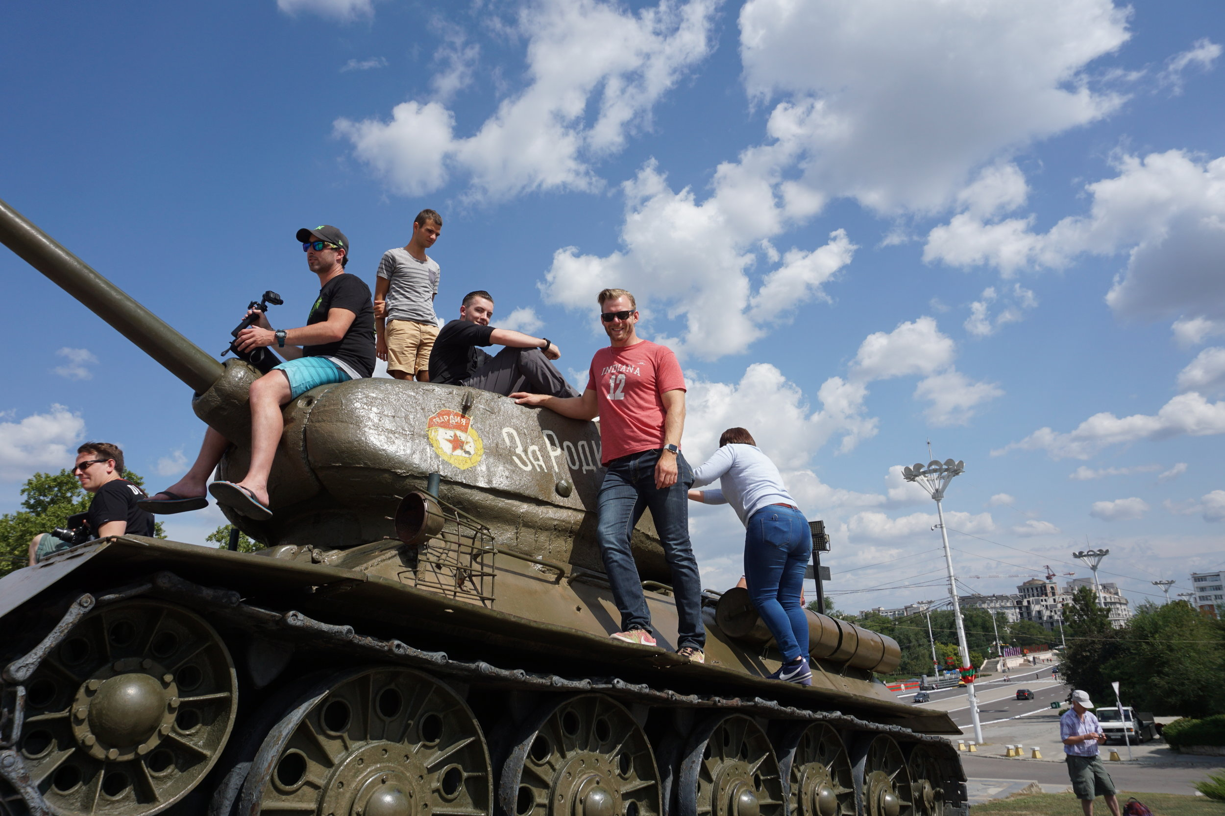From tank admirer to tour guide: the natural progression