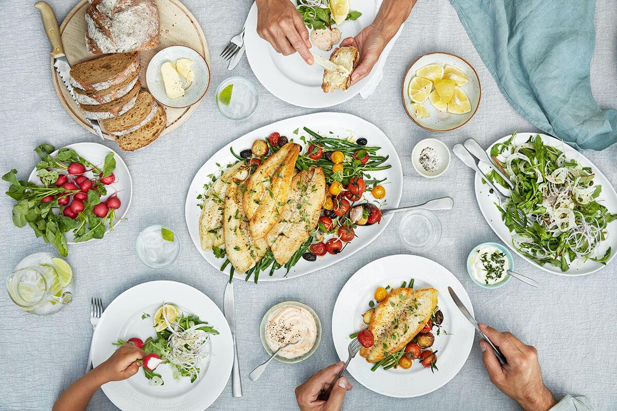 Pangasius on vaalea makean veden kala, joka sopii hyvin lounasruokailuun.