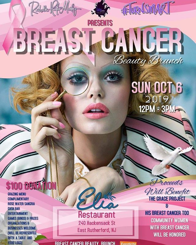 Join us on October 6th to support a great cause. #Turnsmart presents the Breast Cancer Beauty Brunch at Elia. Food, drinks, entertainment, bingo, raffles, and more will be going on from 12-3 PM to help both men and women survivors. Tickets available on Eventbrite, or visit our Facebook for more information. * * * #elia #elianj #eliamediterraneanrestaurant #mediterraneancuisine #foodporn#appetizer #delish #foodie #food #jerseyeats #foodphotography #mediterraneanfood #instafood #eats #foodpics #instagood #tasty #yummy #hungry #njfoodsnob #njfood #njfoodie #mediterraneancooking #mediterraneansangria #njevent #breastcancerawarenessmonth #breastcancerawareness #pinkribbon #brunchforacause