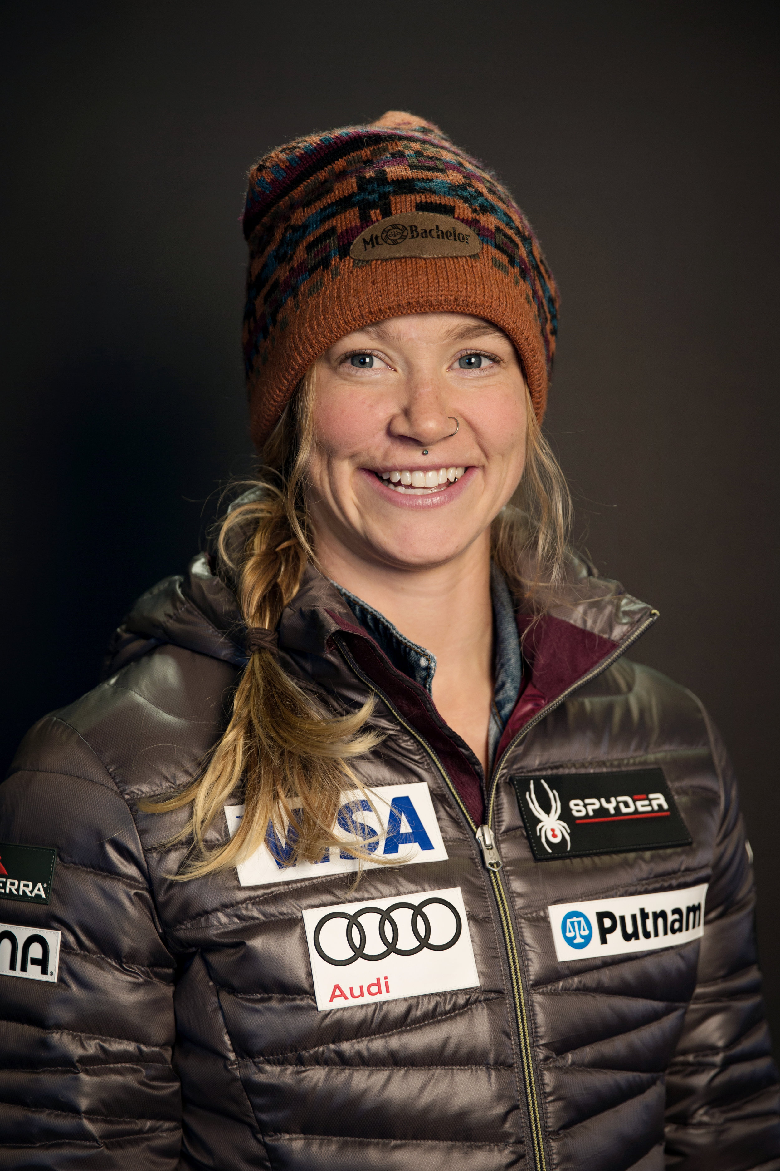 LAURENNE ROSS - Artist. Musician. Valedictorian. Environmentalist. Ski racer. Olympian. These are a just a few of the words we use to describe Laurenne.Laurenne fought her way back from an injury and made the 2018 Winter Olympic Team for the Pyeongchang, South Korea Olympic Winter Games. She placed 15th in the downhill.An incredibly hard worker, Laurenne is a fierce competitor plans on leading the boards in the 2018-2019 season.