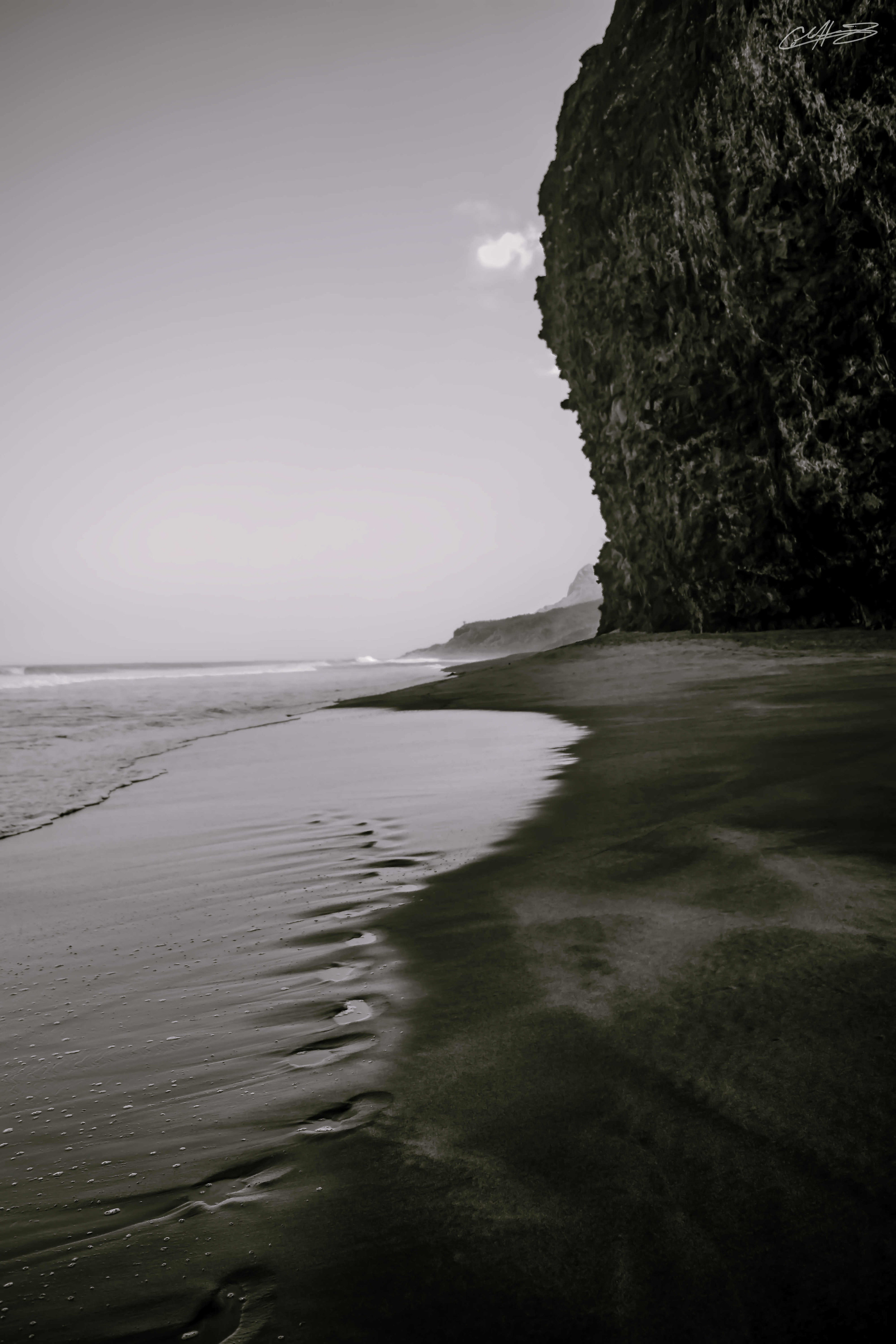 Kalalau Beach B&W wall art edit optimized.jpg