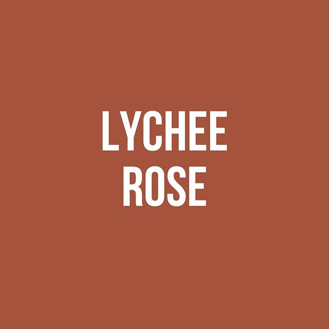 Take a sip of Lychee Rose & feel the love! ❤️ Embrace life's beauty with all its thorns. 🌹