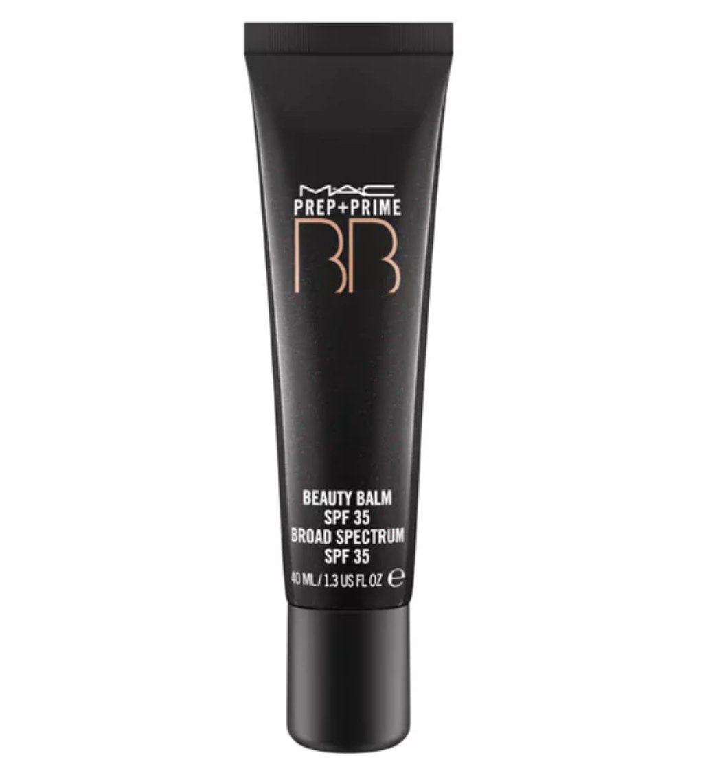MAC Prep + Prime BB Beauty Balm SPF 35  - This beauty balm is a holy grail product. Whether you decide to wear it under your foundation or just by itself, your skin will be left looking more natural than ever.