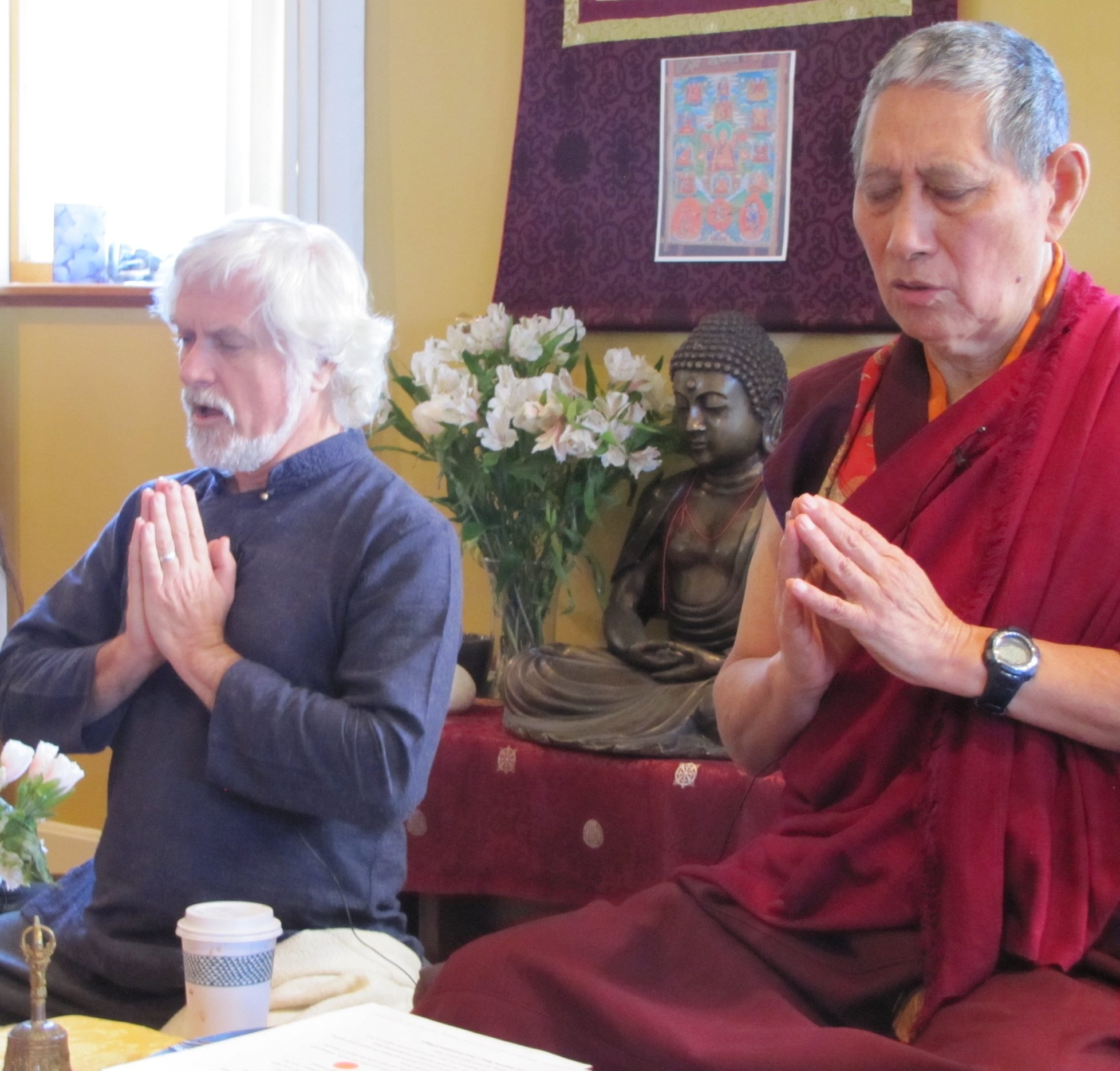 Dan Brown & Rinpoche