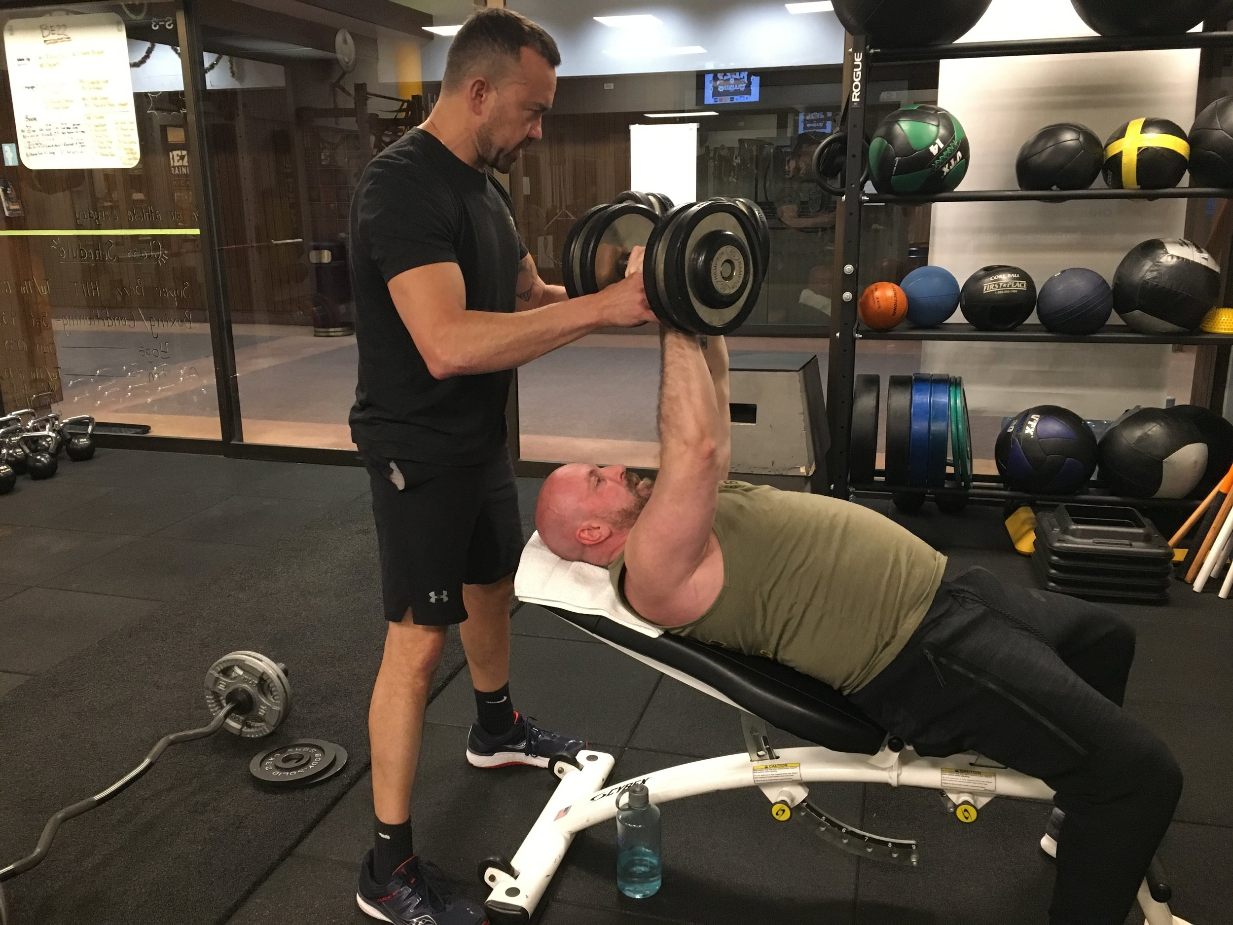 Personal Training — Bezz Training