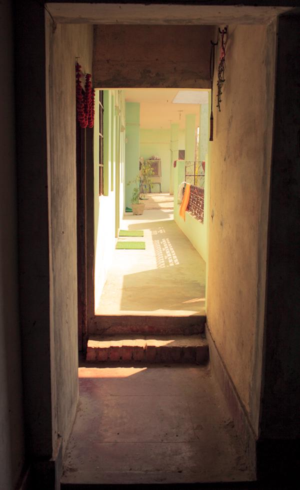 shadows in hallways