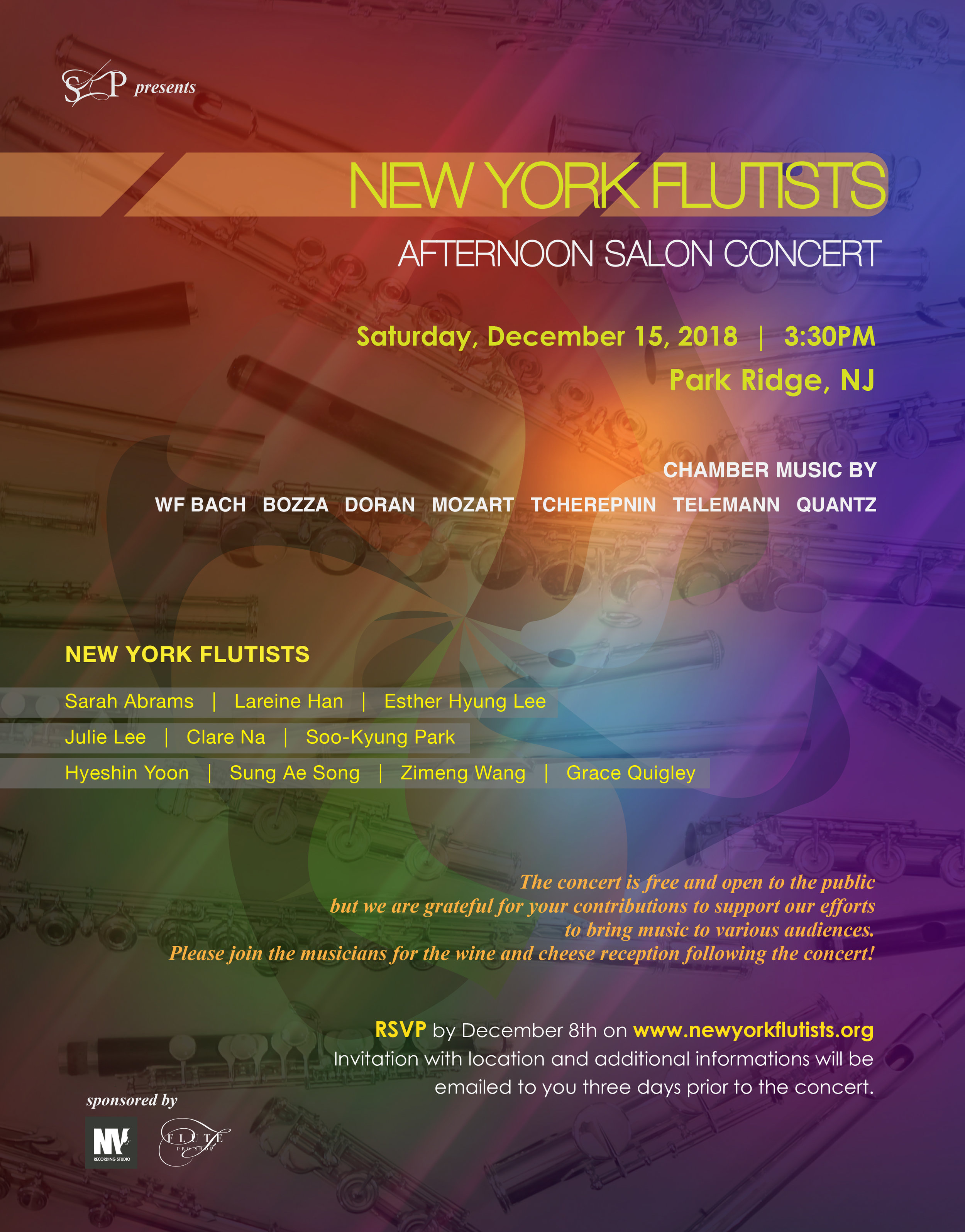 New York Flutists Afternoon Salon Concert