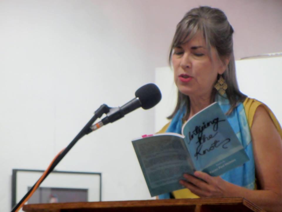 Karen Paul Holmes reading.jpg