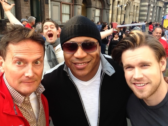 GLEE WRAP PARTY WITH MATTHEW MORRISON, LL COOL J, CHORD OVERSTREET