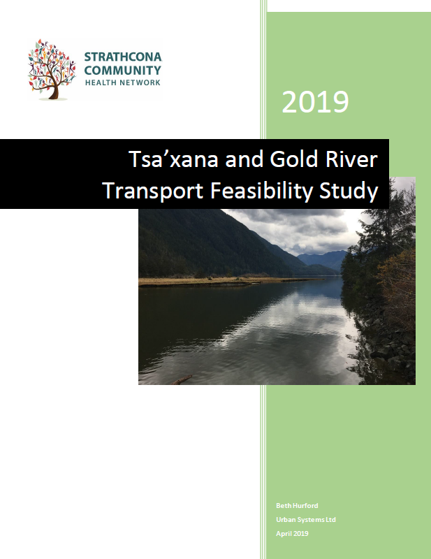 Cover - Transport Report - Gold River and Tsa'xana.PNG