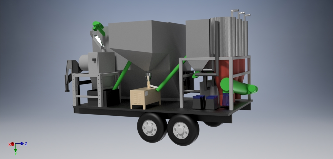Trollworks modular and scalable BECCS system.
