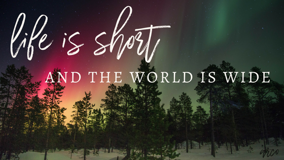 Life is Short | Travel the World | Gypsy | Wanderlust | Vacations | Travel Together | Ashley Rae Co.