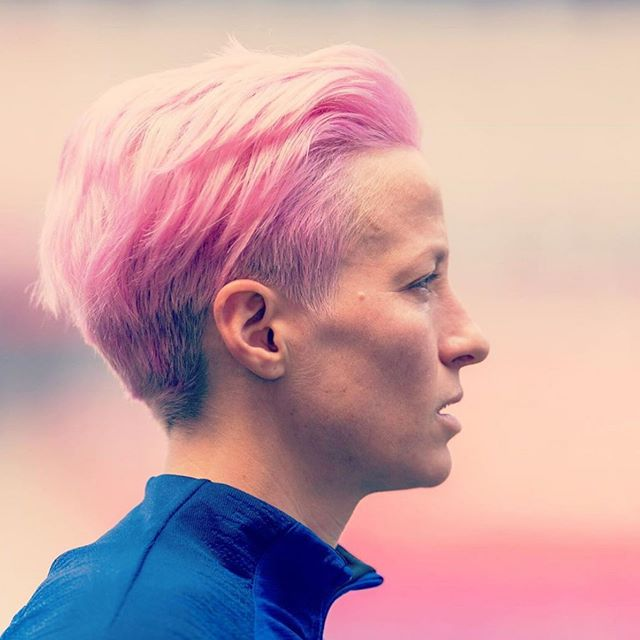 Our #feministfriday shoutout goes to Megan Rapinoe, co-captain of the World Cup Champion US Women's National team.🏆 A fearless competitor who uses her talents on the field and voice off the field challenging everyone to be better.⚽️She has been a big part of the fight for equal pay and using her platform to be an activist.🗣