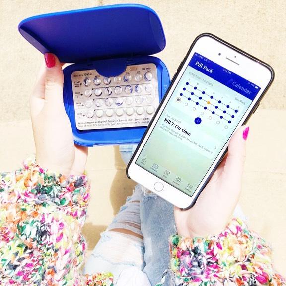 """Cadence can sense when you've taken your pills and automatically updates your app when you've taken it.📱 New to Cadence? Check out our Instagram highlight """"Cadence Device"""" to see how Cadence works. Link in bio to purchase Cadence!💜"""