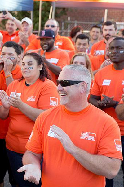 The Home Depot Foundation - Too many of our veterans and their families face major housing challenges, aggravated by issues like unemployment, age and service-related disabilities. The Home Depot Foundation is dedicated to giving back to those who have already given so much for our country.