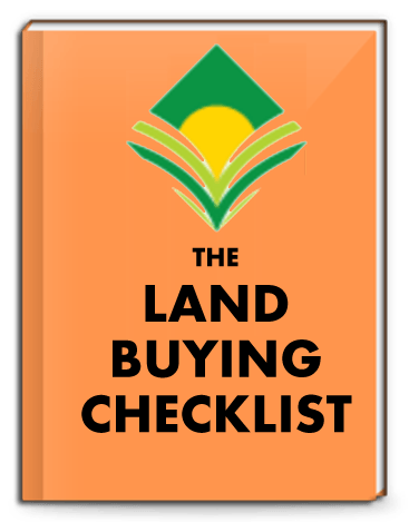 Get our free CHECKLIST to help you AVOID SCAMS and research land BEFORE YOU BUY! -