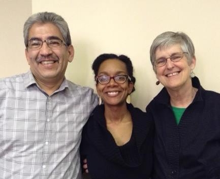 Dionardo Pizaña, Shayla Griffin, and Melanie Morrison, Allies for Change Training Partners