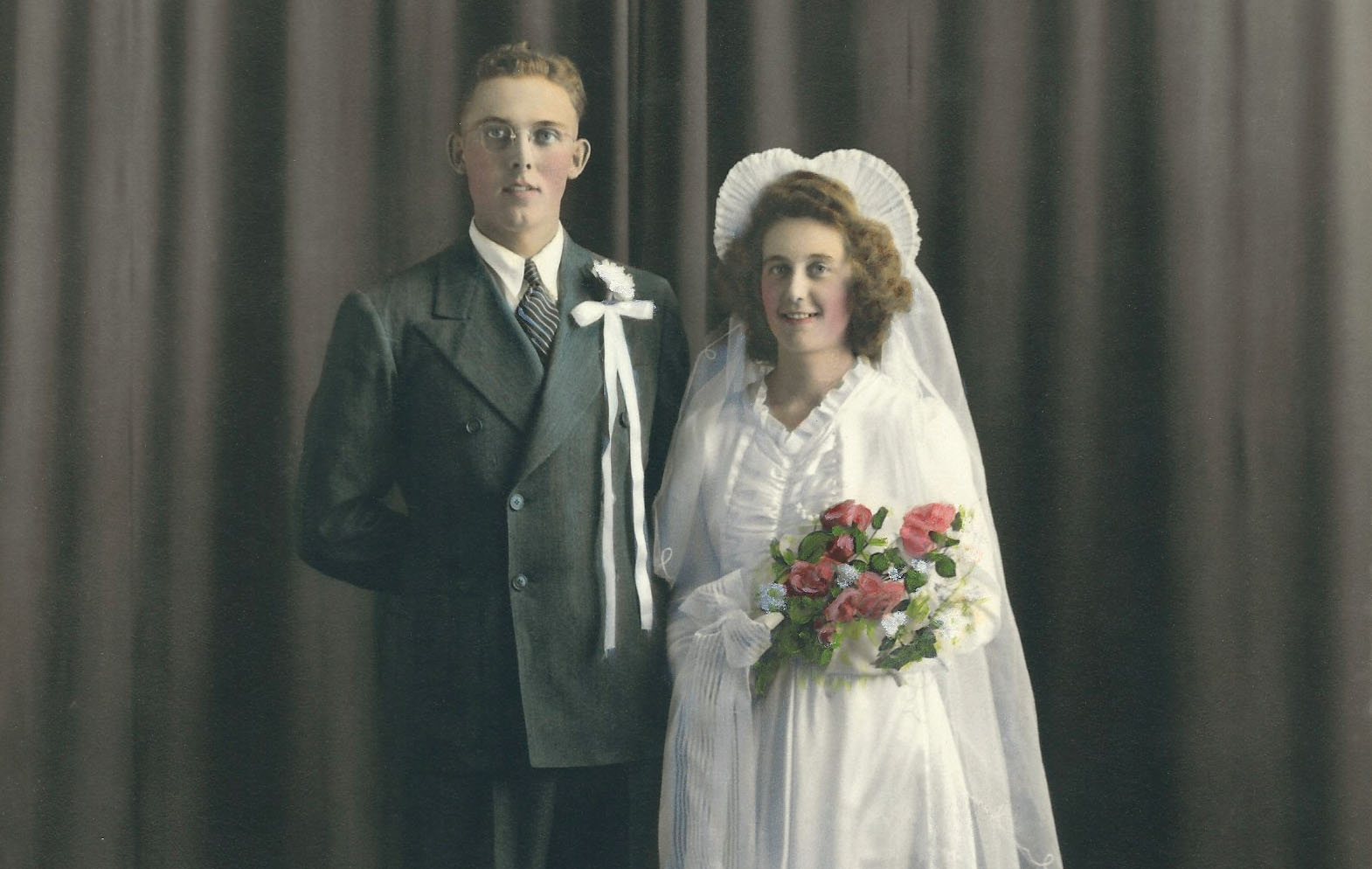 Peter and Marge were wedded in an era when marriages lasted a lifetime. Photos courtesy Shelley Lepp