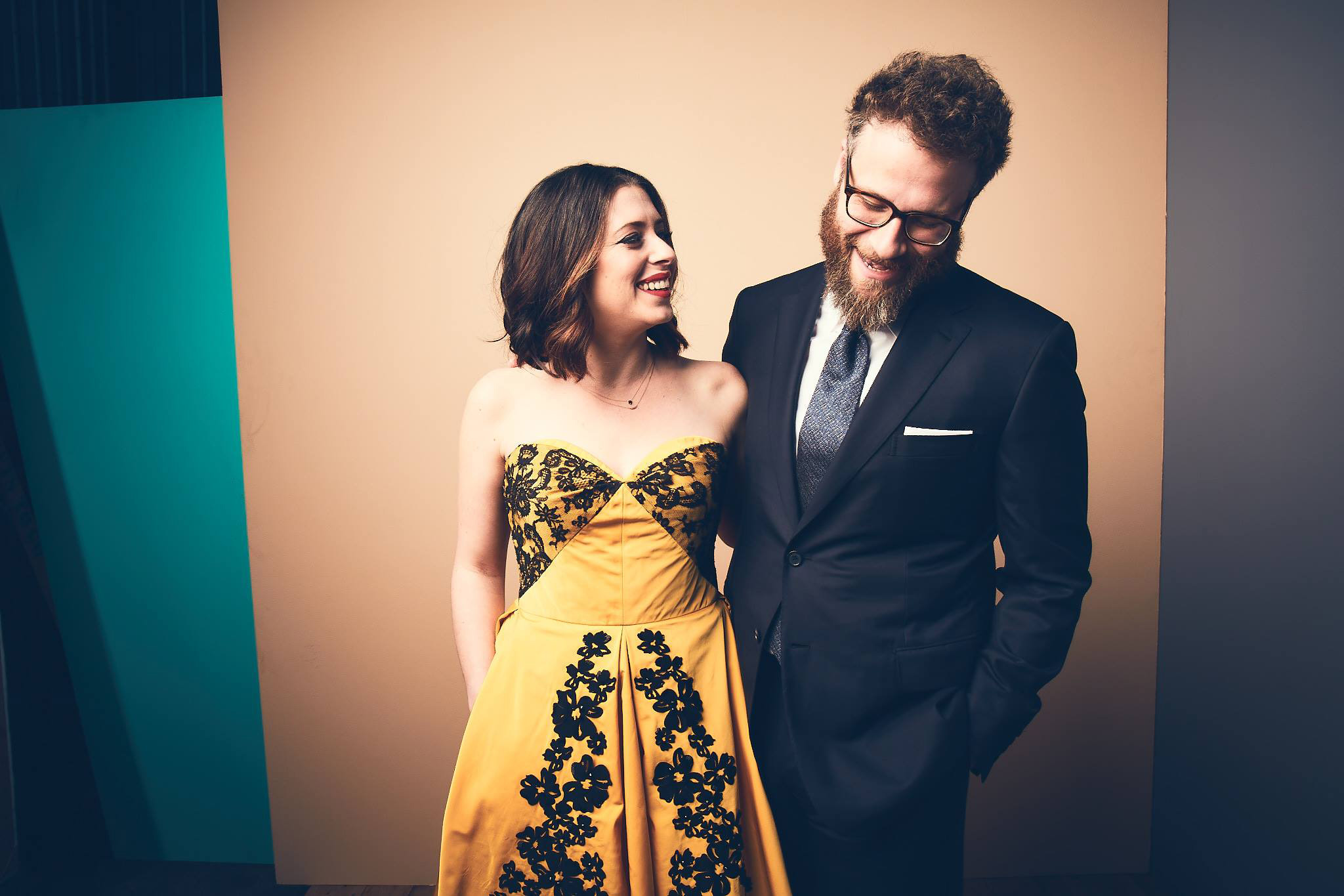 Lauren Miller Rogen and Seth Rogen founded Hilarity for Charity in 2012. Photo courtesy Hilarity for Charity and Getty Events.