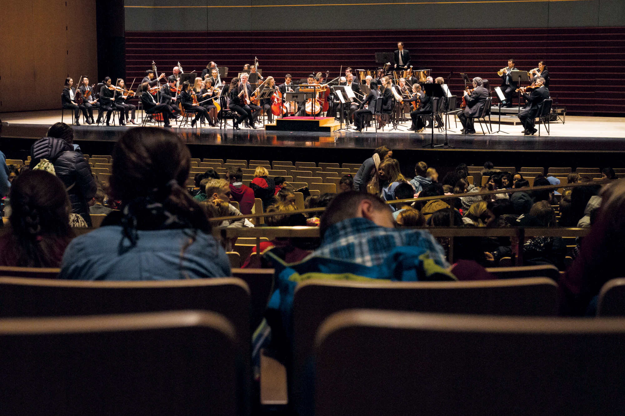 The Open Orchestra. Photo courtesy of the Calgary Philharmonic Orchestra