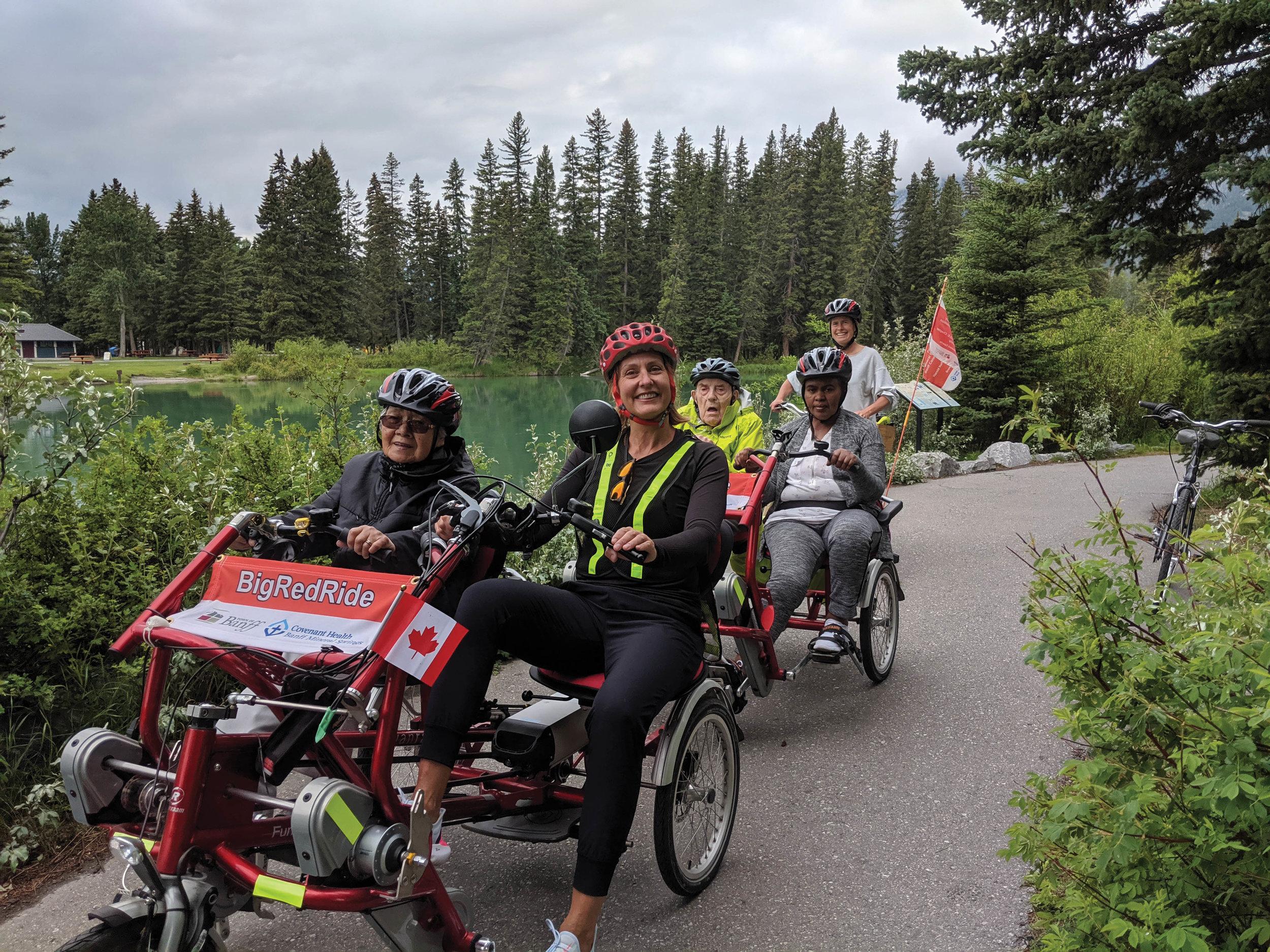 Big Red Ride by Barb Pelham