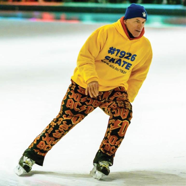 Marathon skater Steve McNeil. Photo courtesy Steve McNeil.