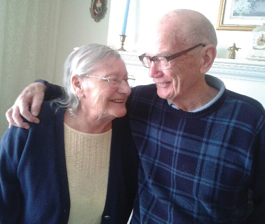 Joan and Ron Freckleton in November 2013. Photo courtesy of Ron Freckleton.
