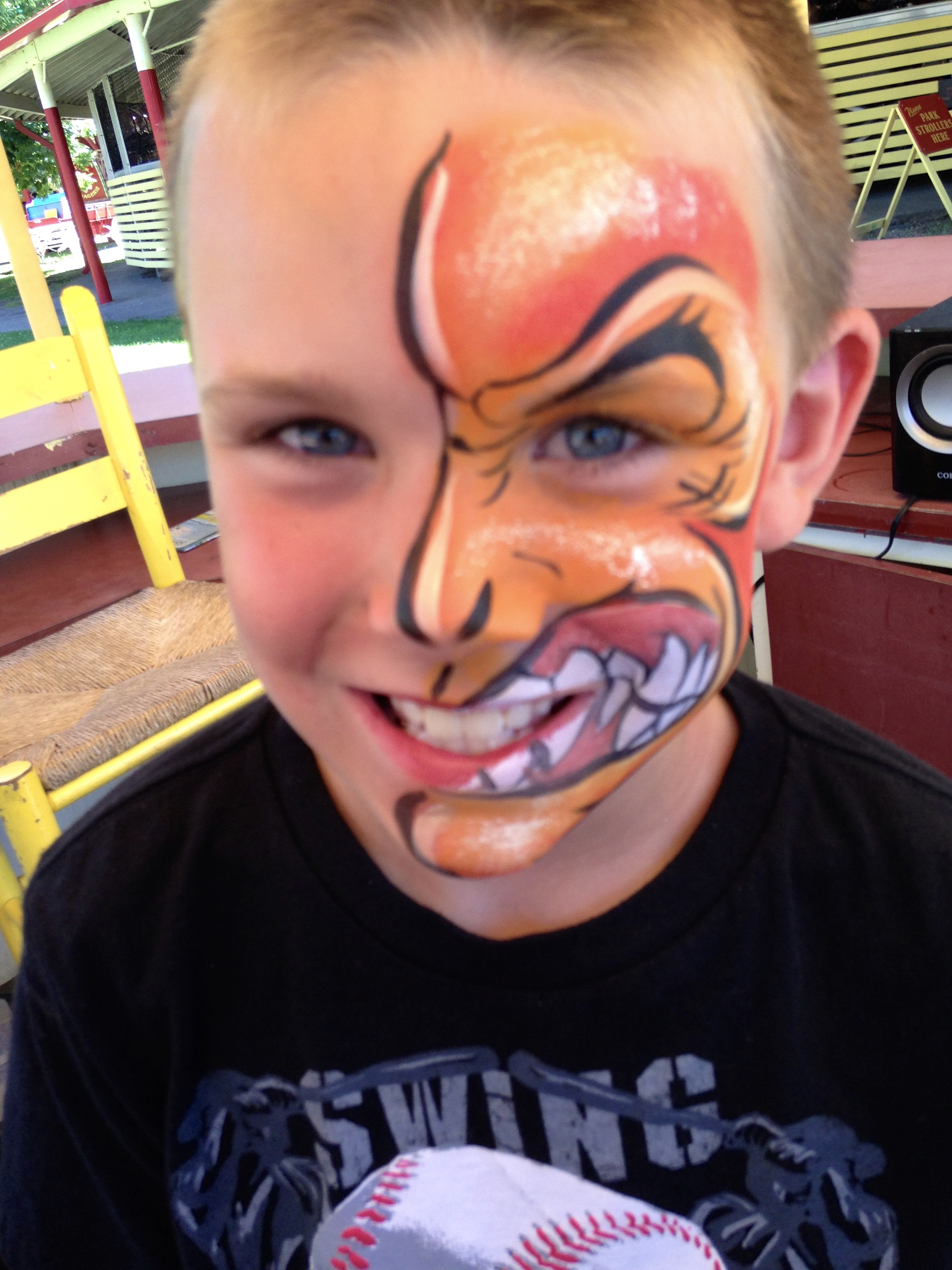 Two Face Face Paint