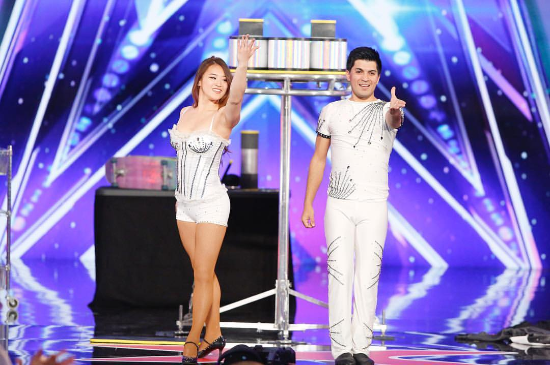Jonathan and Caroline Rinny - America's Got Talent Season 12
