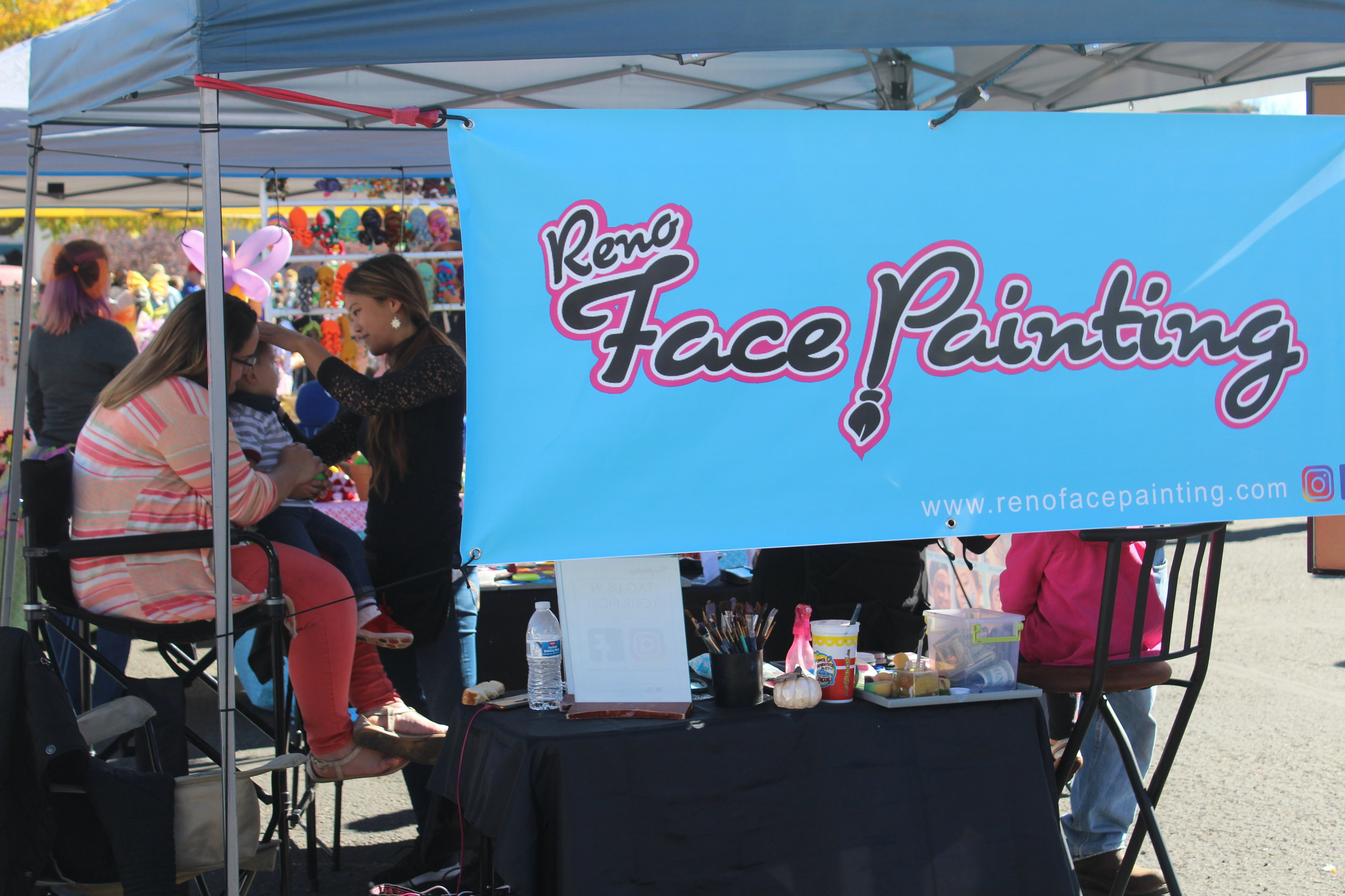 Reno Face Painting Booth