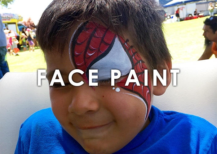 Classic face painting for kids and adults alike  A welcome addition to any event! Original and customizable designs, from butterflies and superheroes to elaborate animals and more.   LEARN MORE
