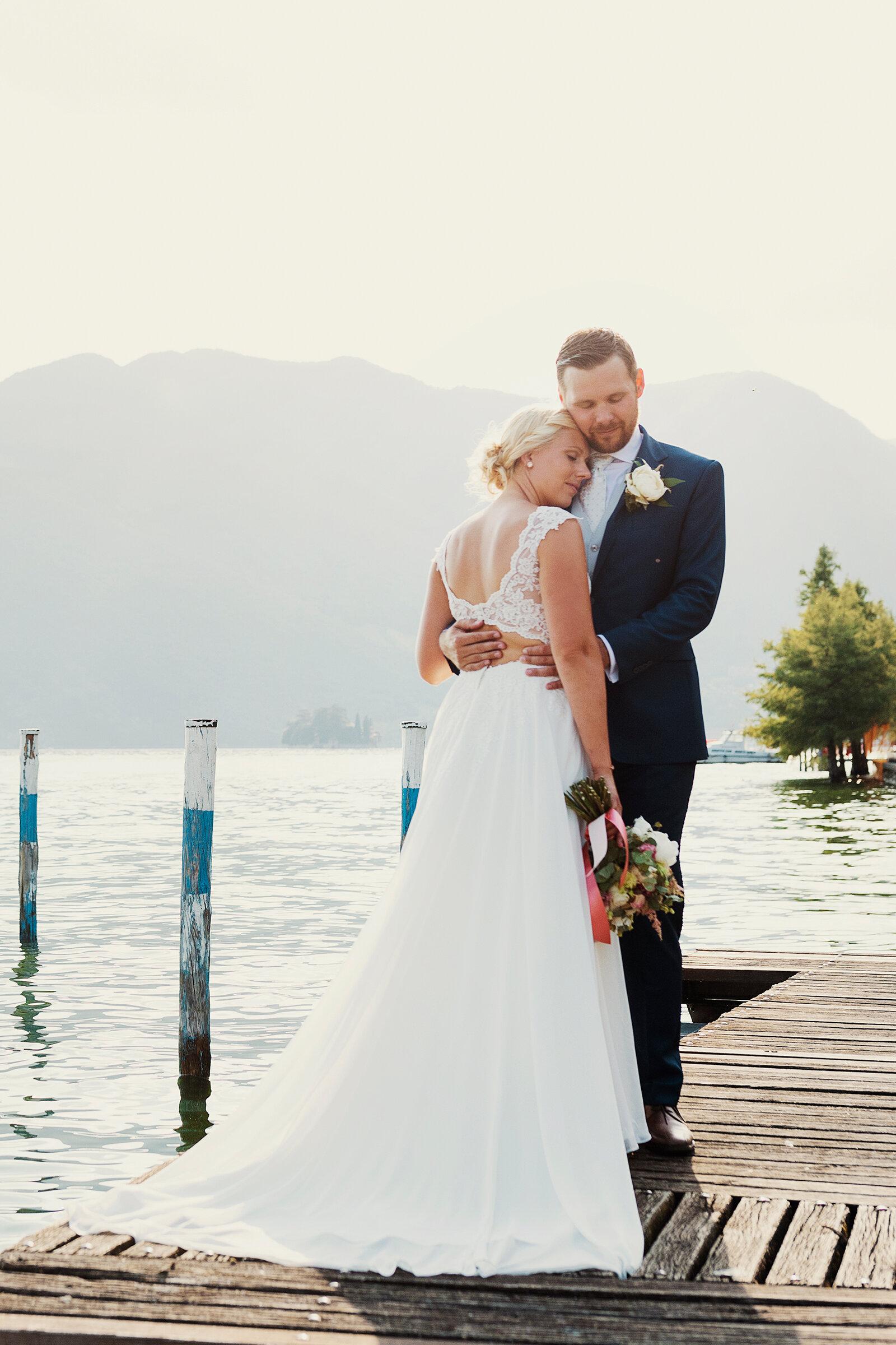Erika och Bernhard - Monte Isola, Italien