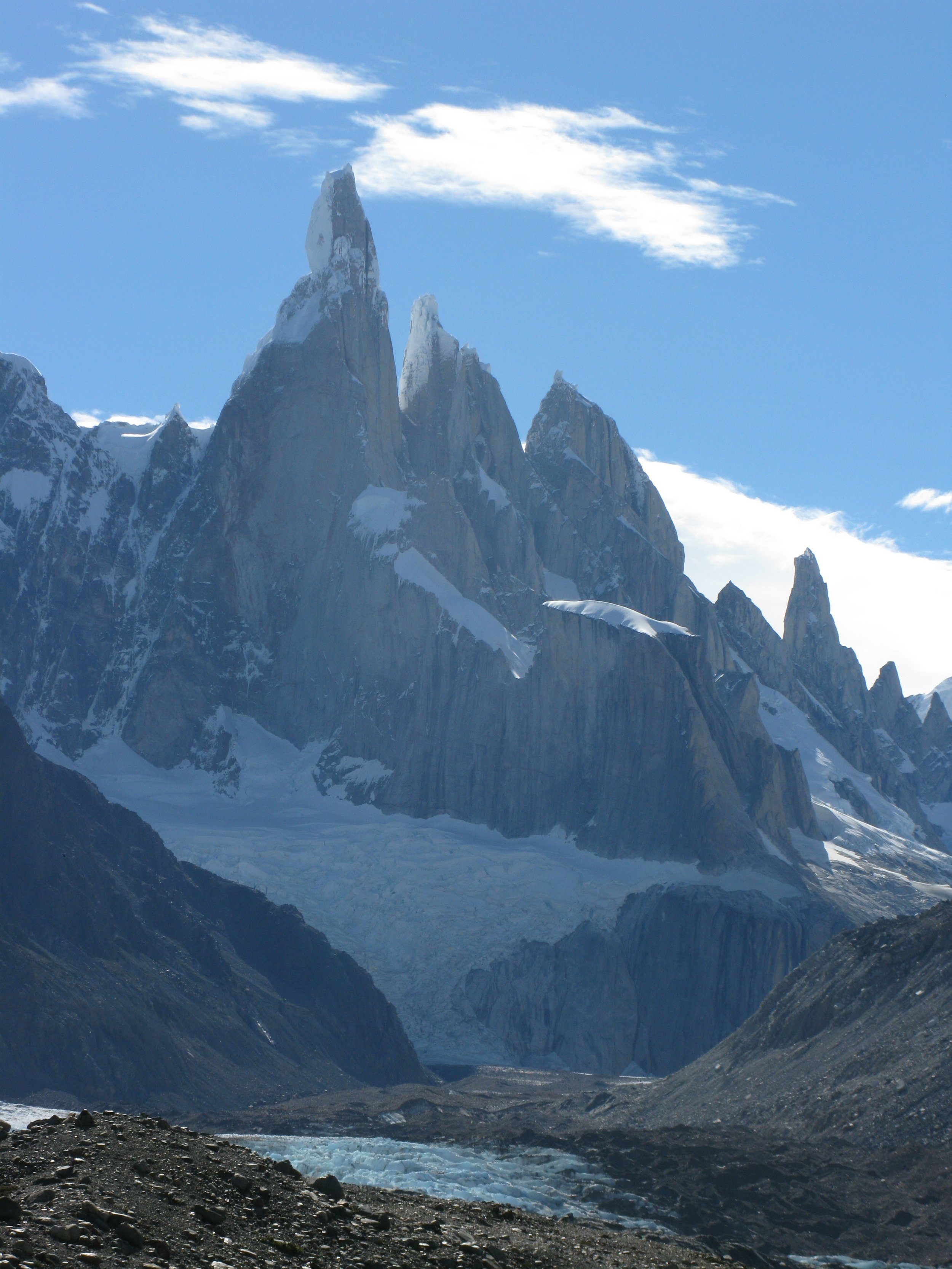 Cerro Torre with Torre Egger and Cerro Standhardt
