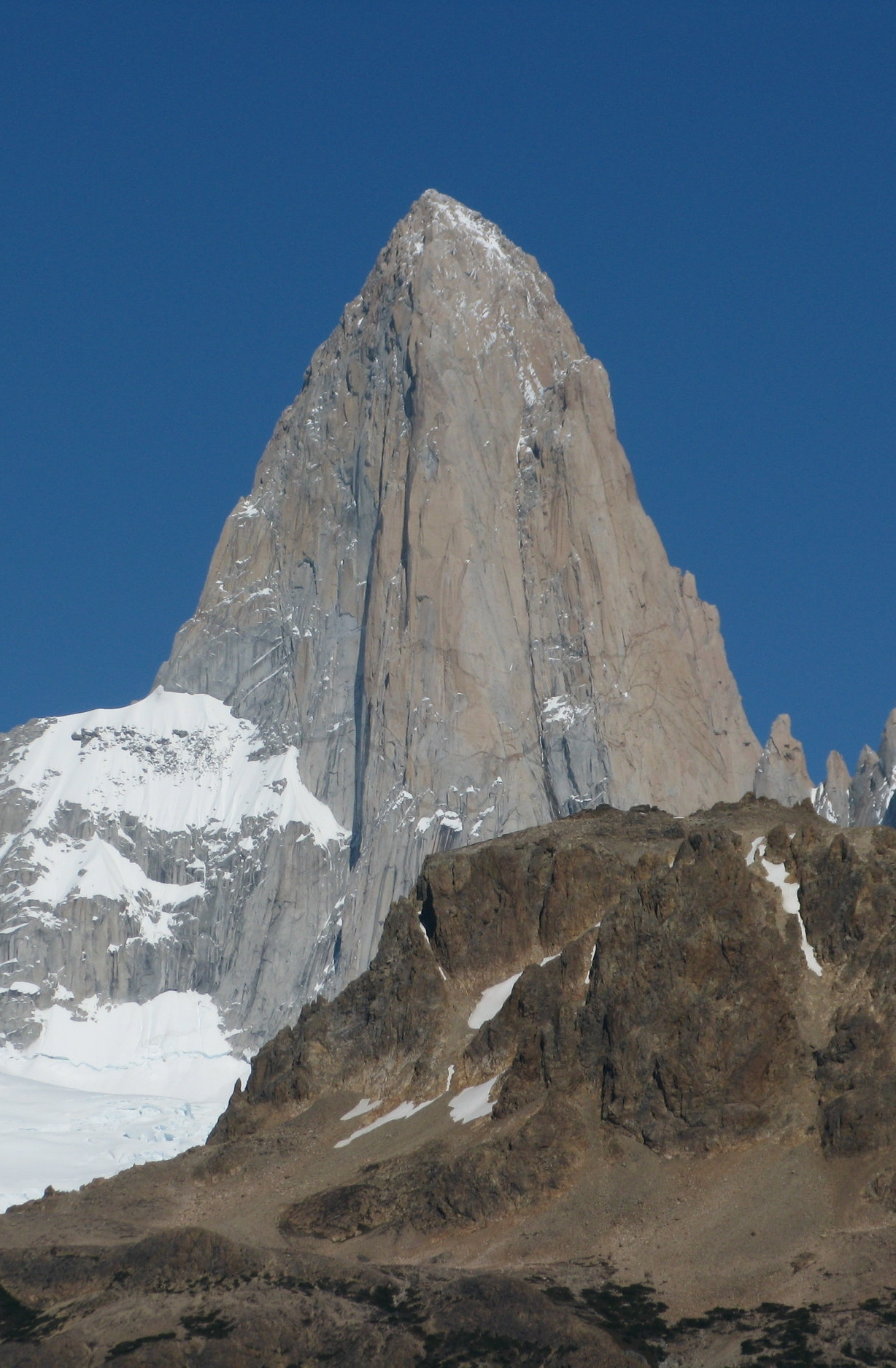 Mt. Fitzroy, with the North Pillar on the right