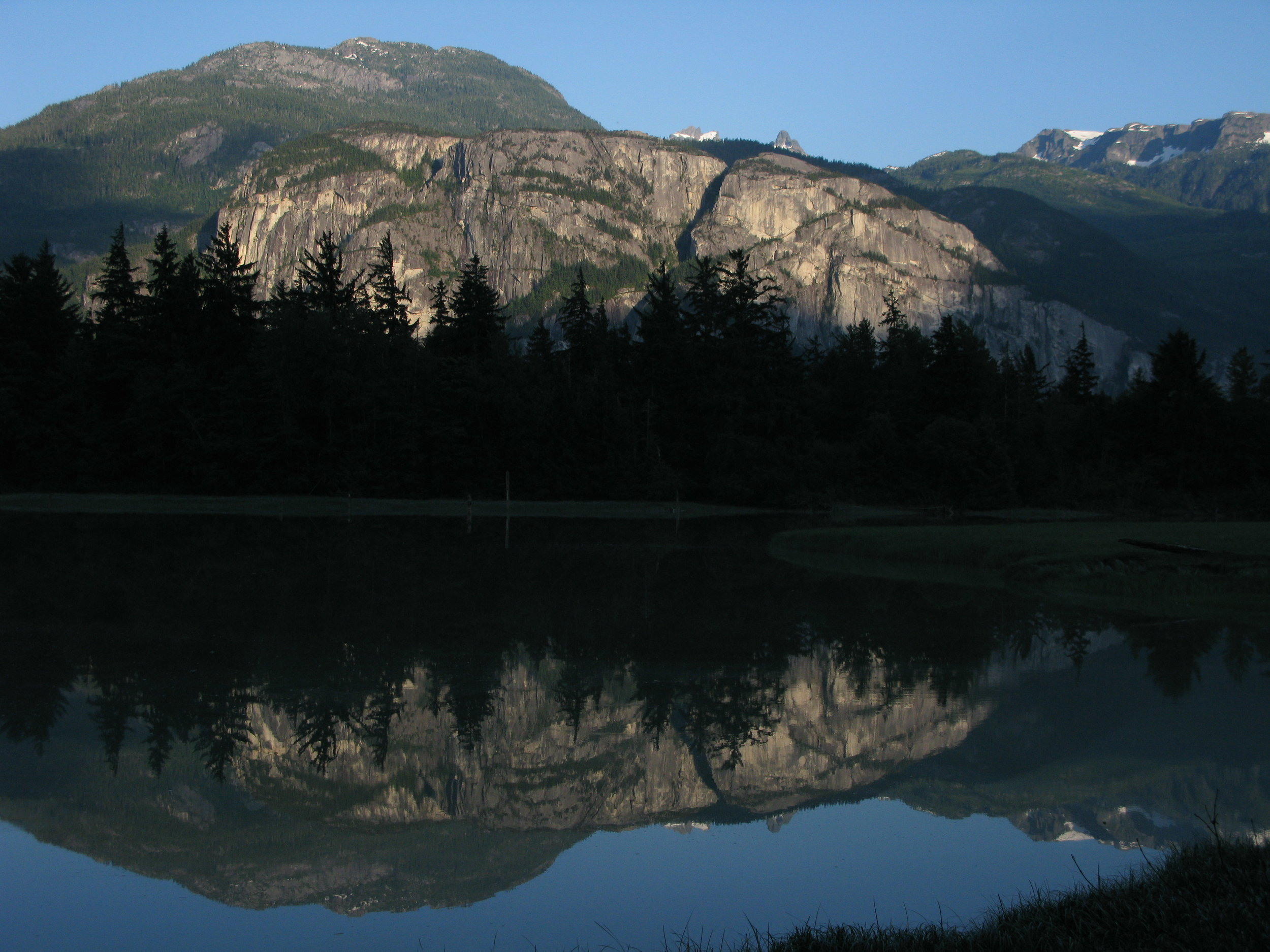 The Stawamus Chief from the Squamish Estuary