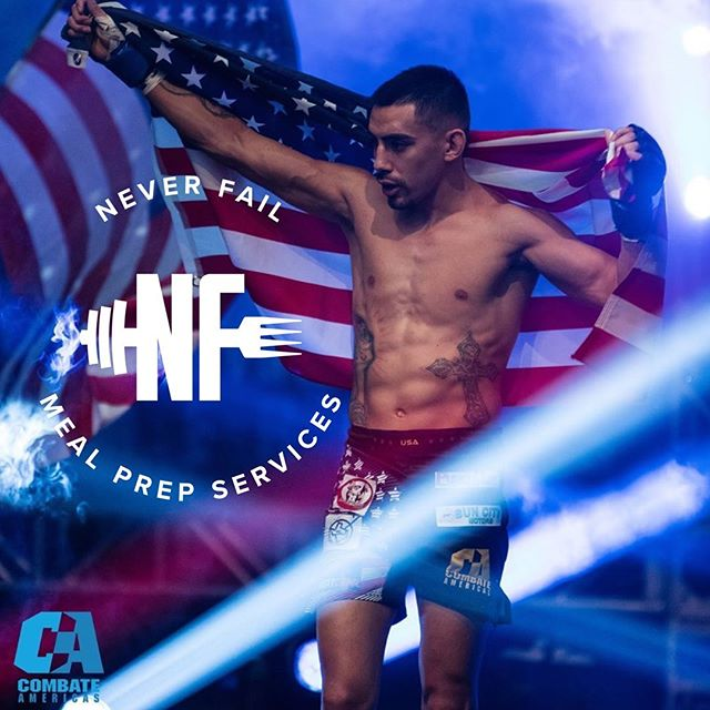 We are excited and honored to add another Legendary athlete to our team! @bulletquintana is a local fighter out of Luttrell/Yee MMA @luttrellyee_mma Andres has an incredible 18-2 record heading into his next world title fight @combateamericas on June 28th! We can't wait to see him crush the competition and take the win for the USA!! 🇺🇸 . . . #neverfailmps #healthy #bodybuilding #convenient #mealprep #eatclean #eattogrow #cleaneating #iifym #diet #healthyeating #preplife #foodporn #food #determination #improvement #motivation #ketogenic #keto #bikini #npcbikini #bodybuilding #mma #jiujitsu #ufc #wrestling #fighter #training #athlete #mealprepideas #preppedmeals