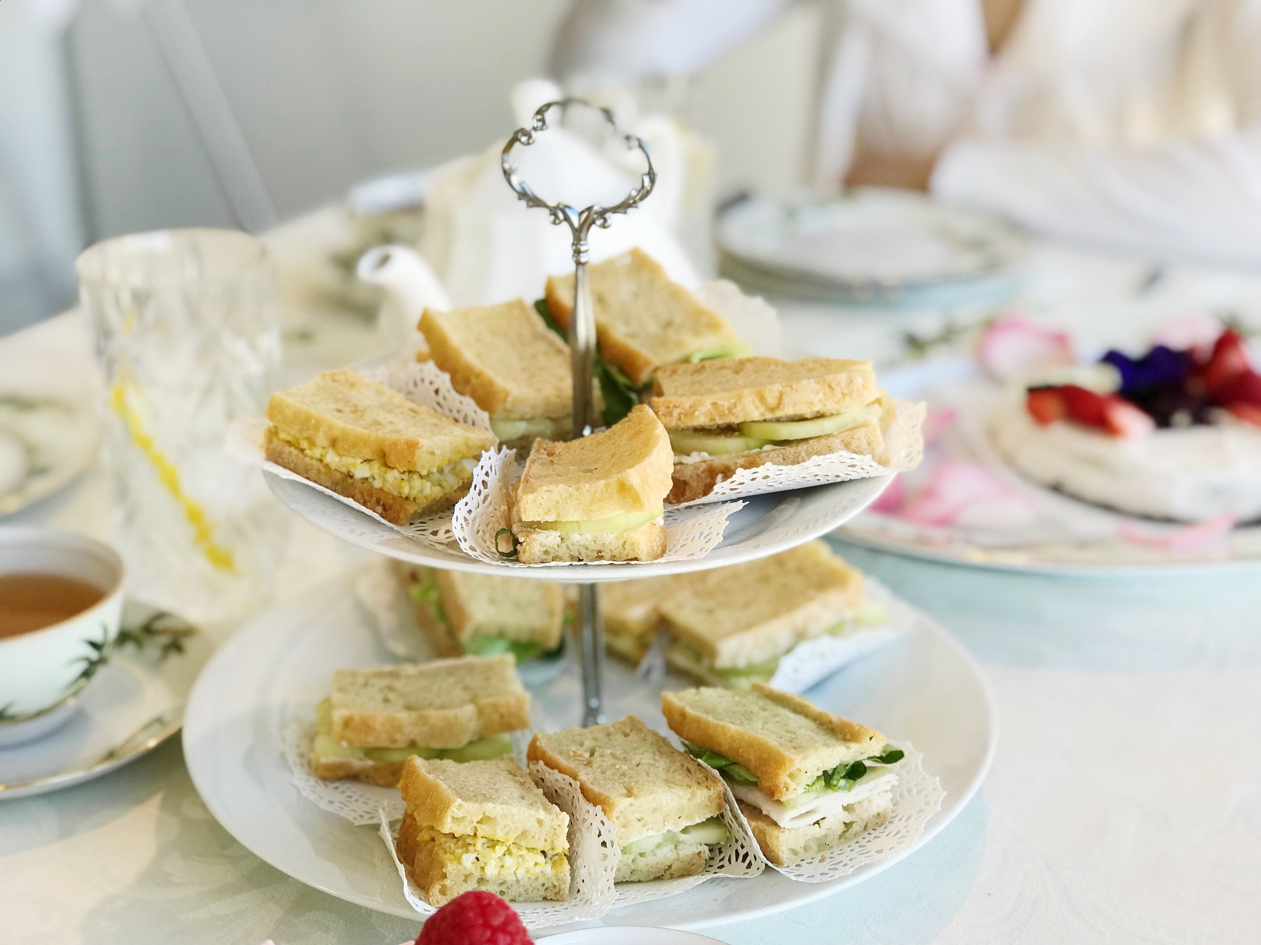 dreamline alliance tea sandwiches