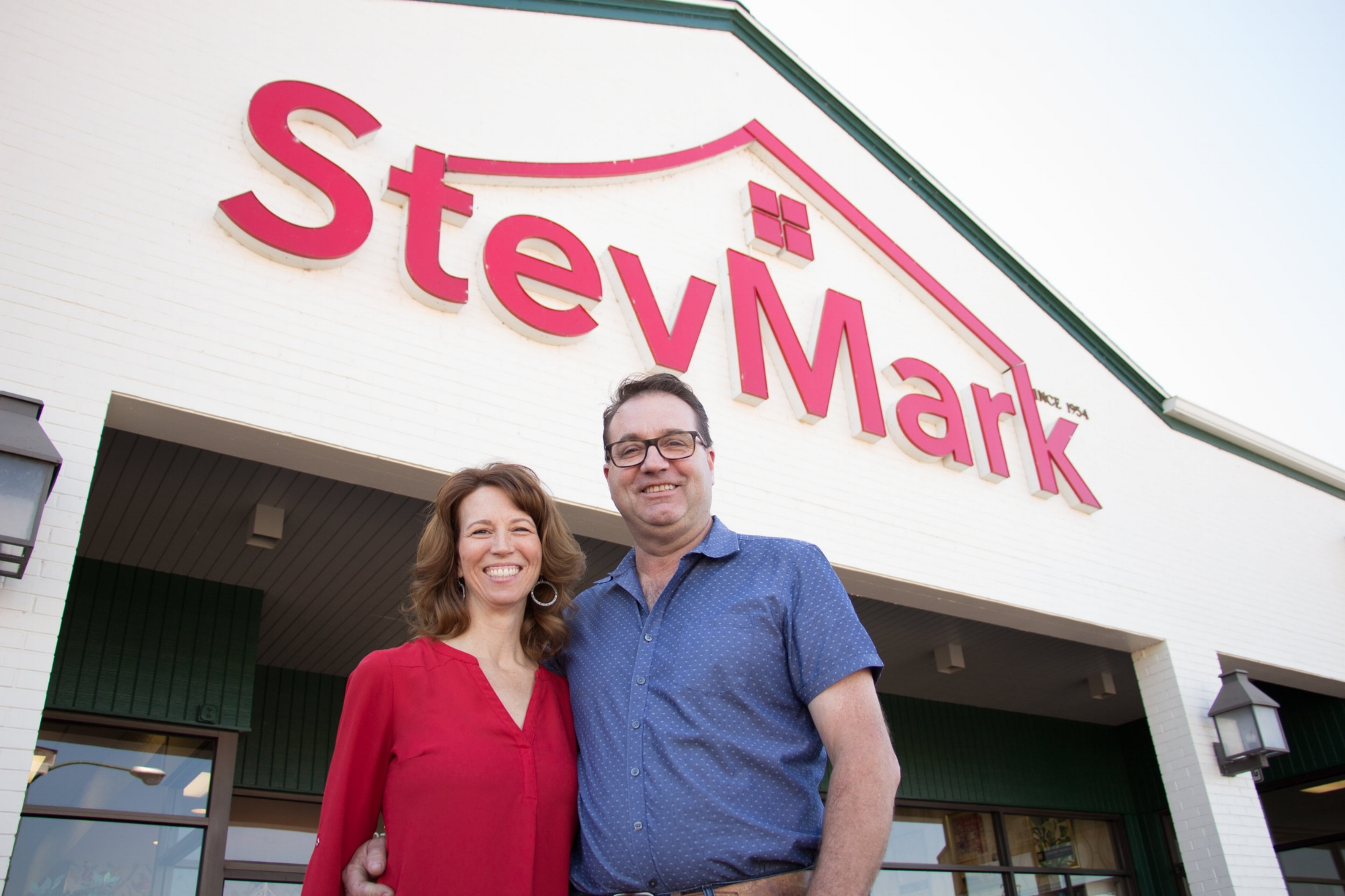 Pictured Above: Mike and Carole Harvell, current owners and operators of StevMark